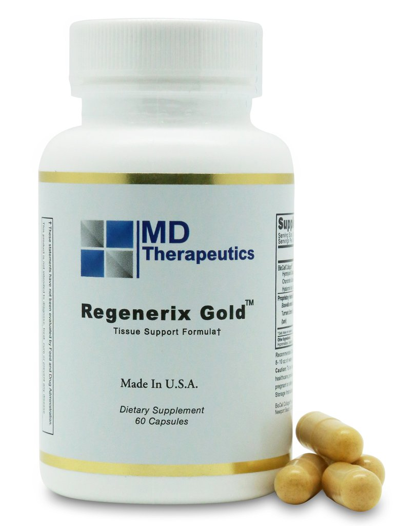 Regenerix Gold – A fast acting hearbal brand with powerful tissue repair ability